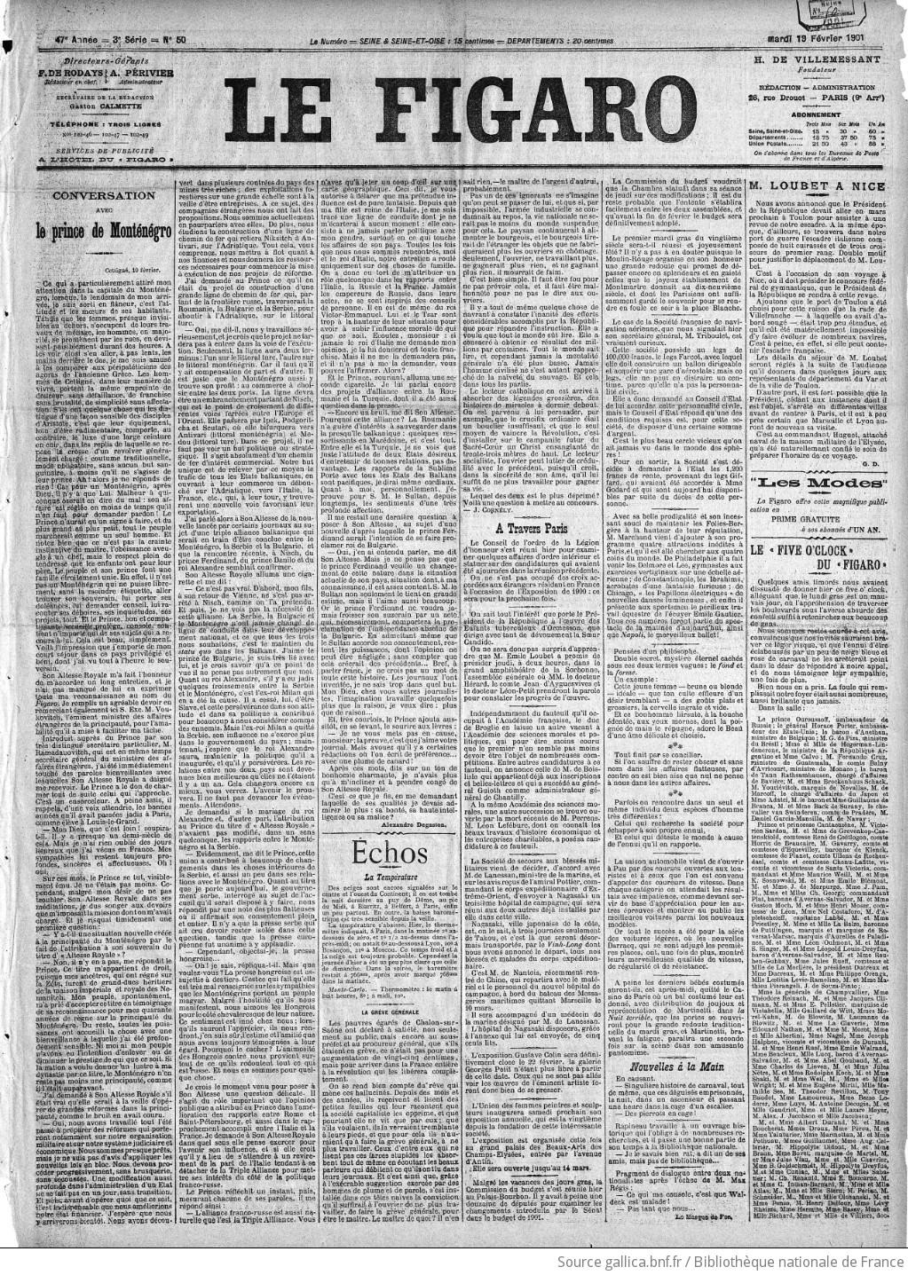 Figaro Journal Non Politique