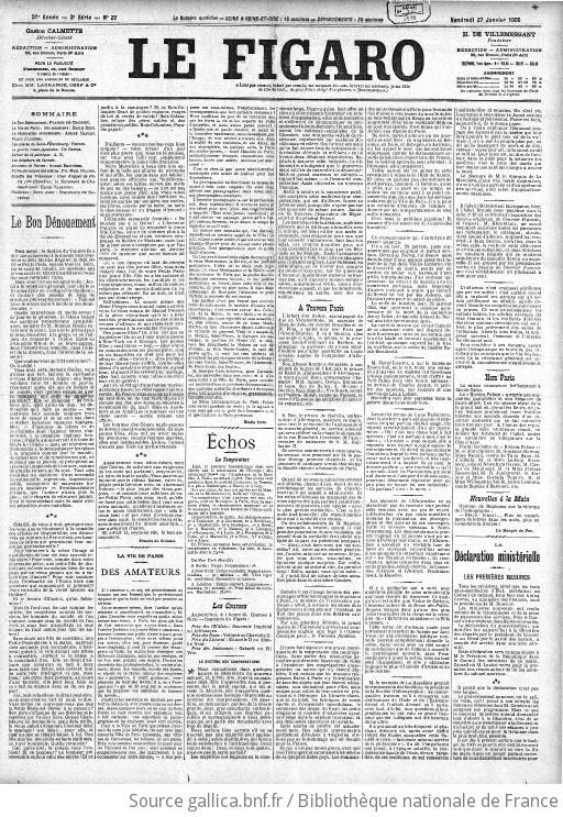 f1a23720f6547 Figaro   journal non politique   1905-01-27   Gallica