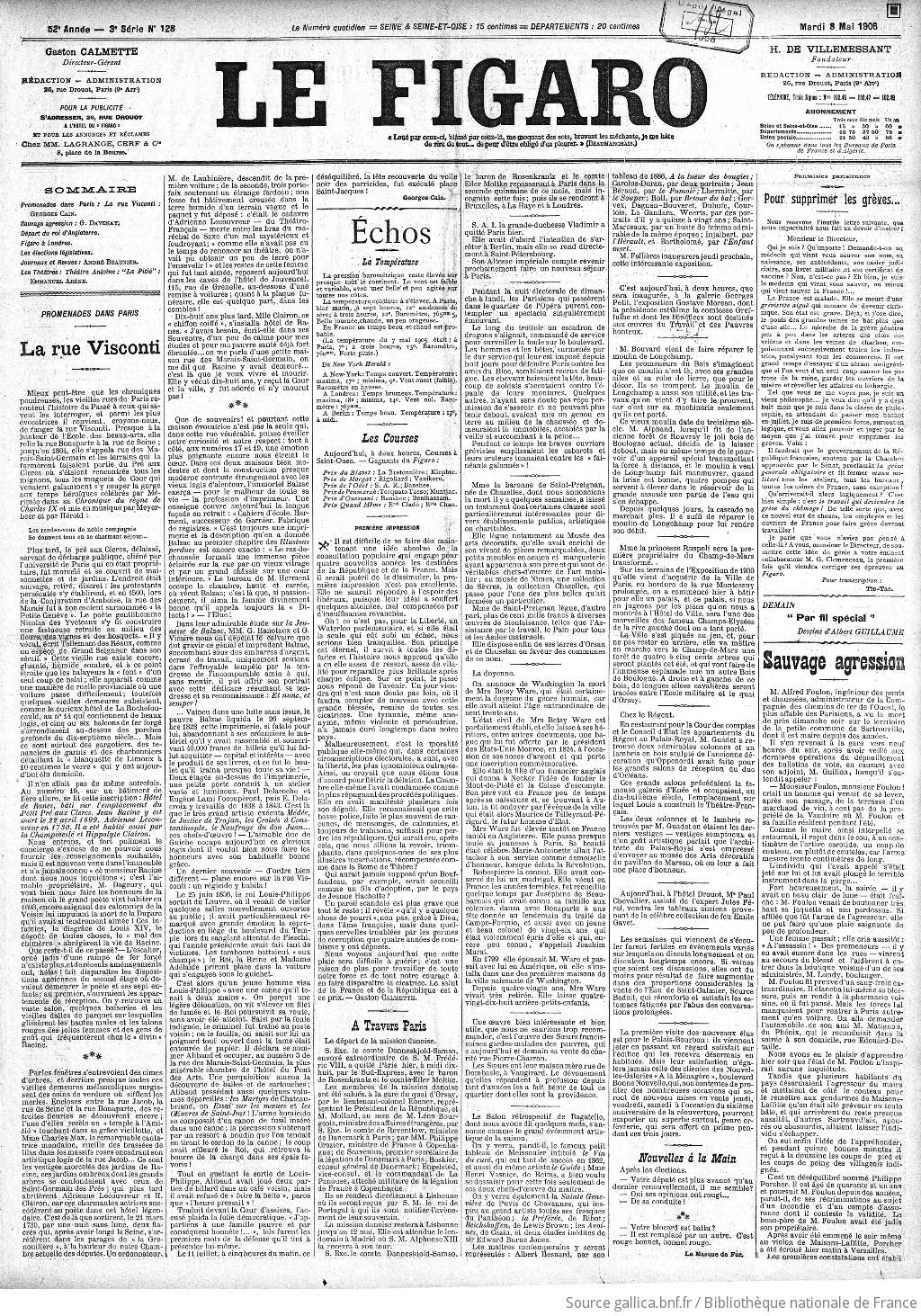 cd2c4d6daba02 Figaro   journal non politique   1906-05-08   Gallica