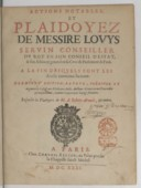 Bildung aus Gallica über Antoine Arnauld (1560-1619)