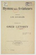 Illustration de la page Omer Letorey (1875-1938) provenant du document numerisé de Gallica