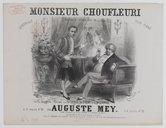 Image from Gallica about Monsieur Choufleuri restera chez lui le...
