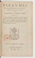 Illustration de la page Loys Bourgeois (1510?-1561?) provenant du document numerisé de Gallica