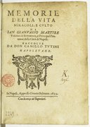 Illustration de la page Camillo Tutini (1594-1670) provenant de Wikipedia