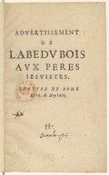 Illustration de la page Jean Du Bois (15..-1626) provenant de Wikipedia