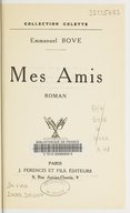 Image from Gallica about Mes amis