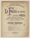 Bildung aus Gallica über Sonates. Violon, basse continue. Ré mineur. Op. 5, no 12