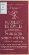 Image from Gallica about Jacqueline de Romilly (1913-2010)
