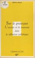 Bildung aus Gallica über Grotesque (littérature)