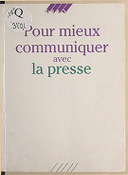 Image from Gallica about Services de presse