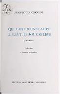 Illustration de la page Jean-Louis Crousse (1932-2008) provenant de Wikipedia