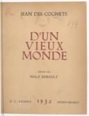 Illustration de la page Jean Des Cognets (1884-1961) provenant de Wikipedia