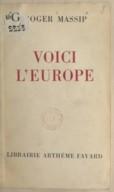 Bildung aus Gallica über Roger Massip (1904-1987)