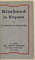 Image from Gallica about André Rolland de Renéville (1903-1962)