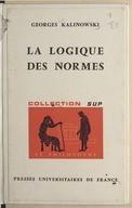 Image from Gallica about Logique déontique
