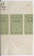 Bildung aus Gallica über Georges Hugnet (1906-1974)