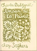Image from Gallica about Charles Dobzynski (Charles Marse). Amour de la patrie