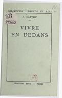 Bildung aus Gallica über Jean Calvet (1874-1965)