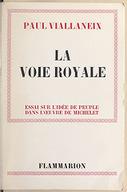 Bildung aus Gallica über Paul Viallaneix (1925-2018)