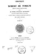 Bildung aus Gallica über Robert de Thorigny (1105?-1186)