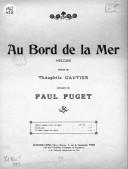 Illustration de la page Paul Puget (1848-1917) provenant du document numerisé de Gallica