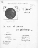 Image from Gallica about Vittorio Monti (1868-1922)