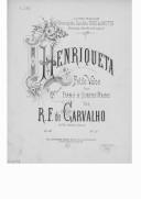 Bildung aus Gallica über Ricardo Ferreira de Carvalho (compositeur, 18..-19..?)