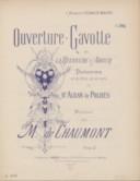 Illustration de la page M. de Chaumont provenant de Wikipedia