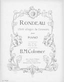 Illustration de la page Rondeau. Piano provenant de Wikipedia