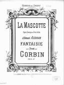 Image from Gallica about Fantaisies. Piano. La mascotte. Audran, Edmond