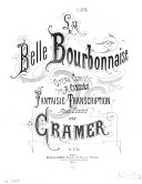 Image from Gallica about La Belle bourbonnaise. Piano