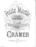 Image from Gallica about Arrangements. Piano. La petite muette. Serpette, Gaston