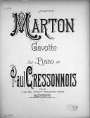Bildung aus Gallica über Paul Cressonnois (1849-1904)