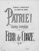 Illustration de la page Ferdinand de Croze (1827-1902) provenant de Wikipedia