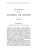 Souvenirs de la guerre de Chine. Troisième partie <br> J. Hervé. 1905