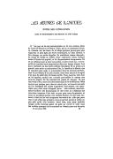Les jeunes de langue  In: Le Correspondant, sept. 1881, p. 905-930. 1881