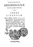 Illustration de la page Officine Anisson provenant de Wikipedia