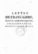 Illustration de la page Franc-libre (soldat, 17..-18..?) provenant de Wikipedia