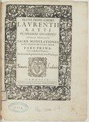Illustration de la page Lorenzo Ratti (1590?-1630) provenant de Wikipedia