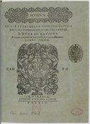 Bildung aus Gallica über Gioseffo Guami (1542-1611)