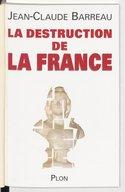 Illustration de la page La destruction de la France provenant du document numerisé de Gallica