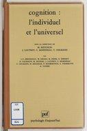 universel et differentiel en psychologie symposium de lassociation de psychologie scientifique de langue francaise aix en provence 1993