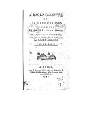 Illustration de la page Thomas Rousseau (1750-1800) provenant de Wikipedia