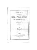 Image from Gallica about Finances publiques