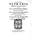 Illustration de la page Antonio Neri (1576-1614) provenant de Wikipedia