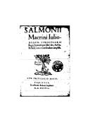 Illustration de la page Hymnorum libri sex provenant de Wikipedia