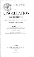 Illustration de la page Henri Lee provenant de Wikipedia