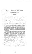 De la civilisation en Chine et de son avenir <br> J. Itier. 1860