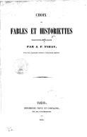 Choix de fables et historiettes, traduites de l'arabe <br> 1853