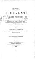 Recueil de documents sur l'Asie centrale <br> C. Imbault-Huart. 1881